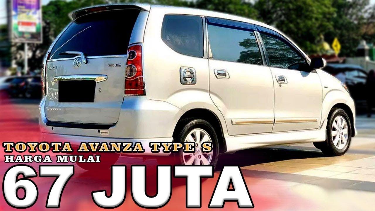Kelebihan Avanza Type S Spesifikasi