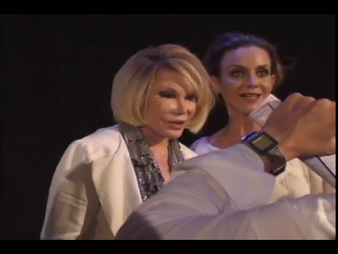 Judith Chapman Gloria from the Young and the Restless and Joan Rivers