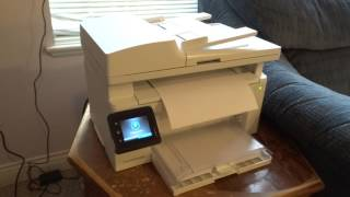 HP LaserJet Pro MFP M130fw Printer Run test