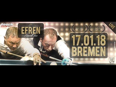 Efren Reyes Farewell Tour - Final Clash of The Titans (7/8) Stop Billardfreunde Bremen e.V.