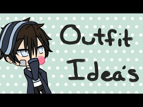8 Outfit Ideas for BOYS in Gacha Life , YouTube