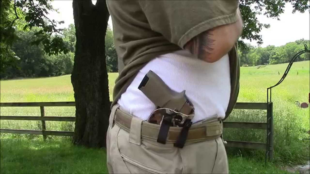 Sig P320 Holster-Green Force Tactical - YouTube