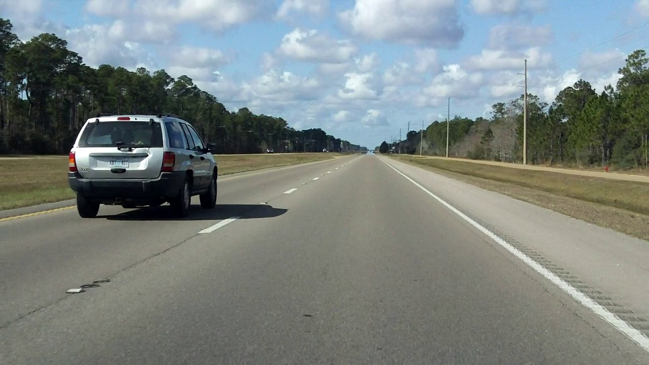 US Mississippi MS To MS Westbound YouTube - Hwy us 90 mississippi map