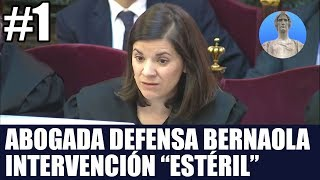 Juicio Proces - abogada defensa Bernaola - Baena