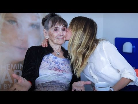Acting In Her First Movie At Age 85  Besedka Johnson & Dree Hemingway talk STARLET