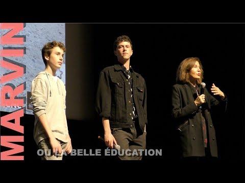 CINEMED 2017 : Triomphe pour Finnegan OLDFIELD & Anne FONTAINE (Marvin ou la belle éducation)