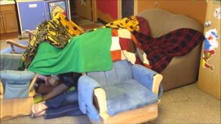 How To Make A Blanket Fort!