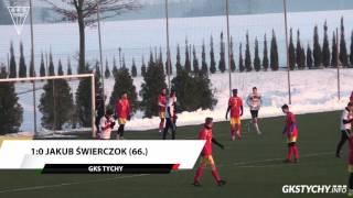 Sparing: Skrót meczu GKS Tychy - Znicz Pruszków 2:0