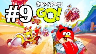 Angry Birds Go! Геймплей Прохождение Часть 9  Gameplay Walkthrough Part 9(Добро пожаловать на трассы скоростного спуска Свинского острова! Почувствуйте кайф гонки вместе с птицами..., 2015-01-20T19:56:06.000Z)