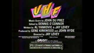 """Weird Al"" Yankovic in UHF 1989 TV trailer"