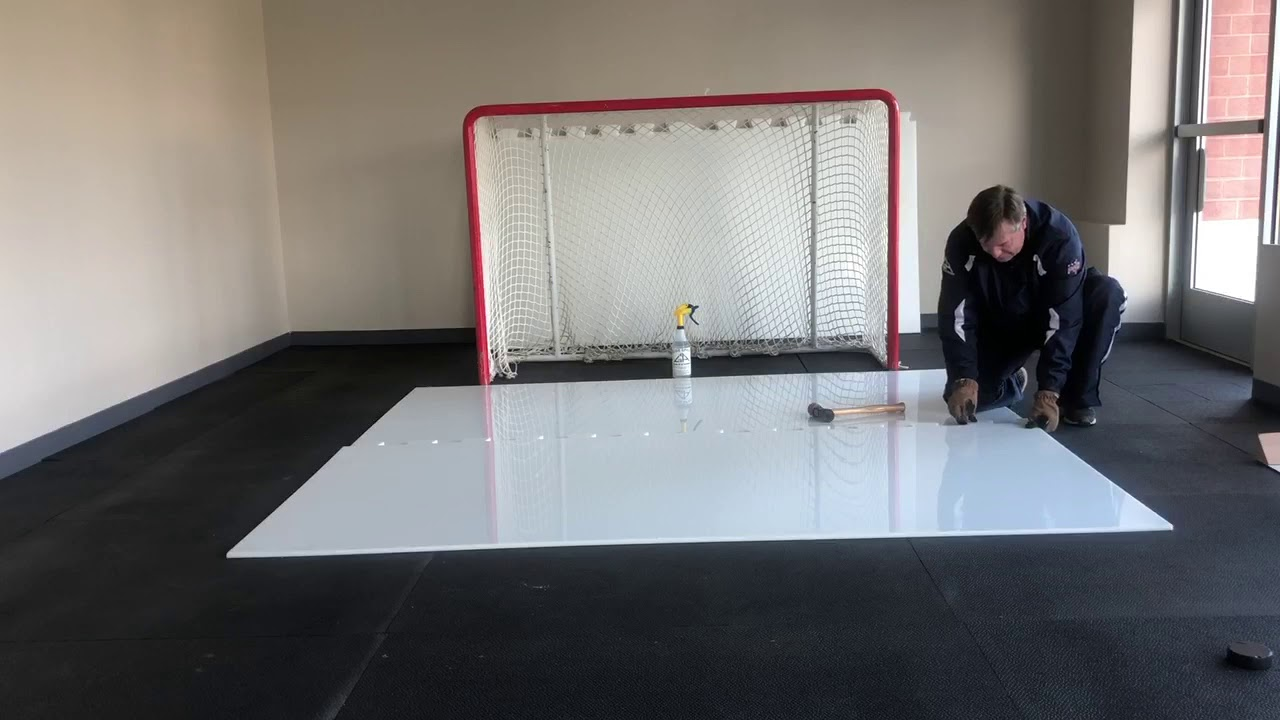 Goalie Academy: Building Synthetic Ice