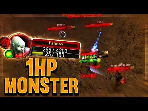 PVP on low health makes me a monster! Classic WoW Highlights thumbnail