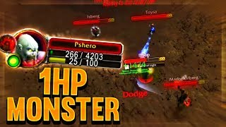 PVP on low health makes me a monster! Classic WoW Highlights