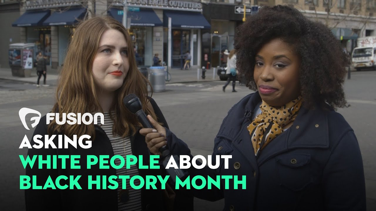 Download Asking White People About Black History Month