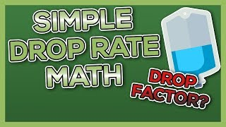 Drop Rate - Nursing Math for IVs