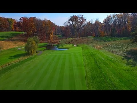 Aerial Film of the Baltimore Country Club's Championship East Course