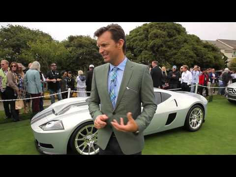 The One At The Pebble Beach Concours D'elegance Concept Lawn!