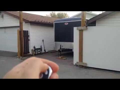 Aleko AC1400 Sliding Gate Opener Installation