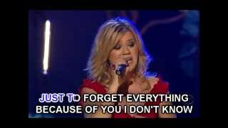 Kelly Clarkson - Because Of You (Karaoke Instrumental)