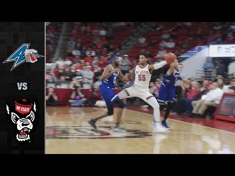 UNC Asheville vs. NC State Basketball Highlights (2018-19)