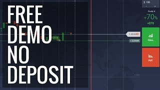 A noob guide to binary options demo trading with no deposit