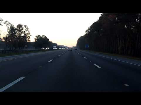 Interstate 95 - Florida (Exits 329 to 318) southbound