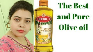 Bertolli classico olive oil Review.  The best olive oil