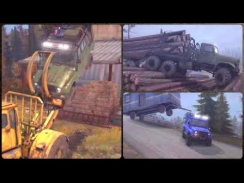 spintires mudrunner ps4 fails and funny moments youtube. Black Bedroom Furniture Sets. Home Design Ideas