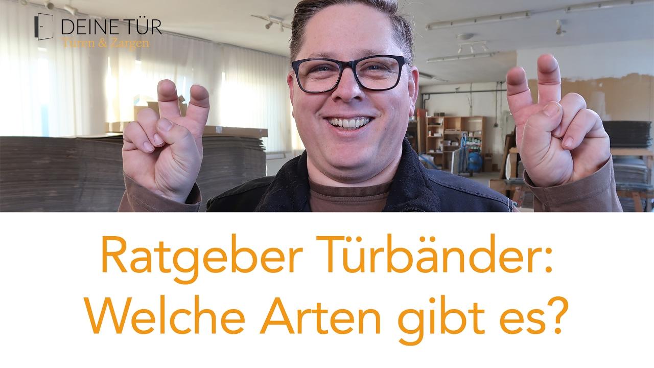 Gut gemocht How to: Türband Arten / Ratgeber für Türbänder / Türscharnier DA83