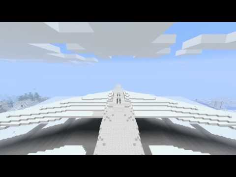 Minecraft - The BIGGEST AIRPLANE EVER [MUST SEE!] Travel Video