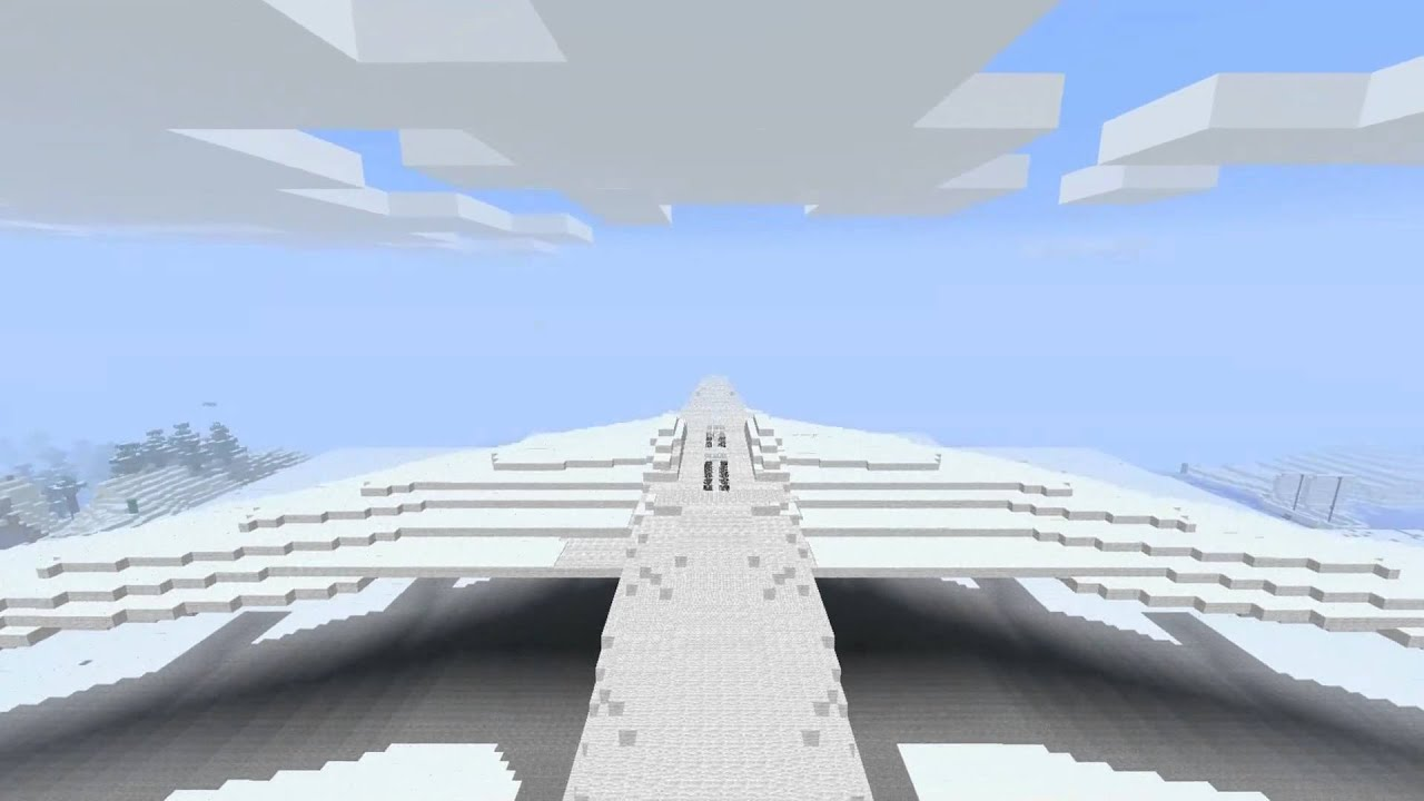 how to build a airplane in minecraft pc