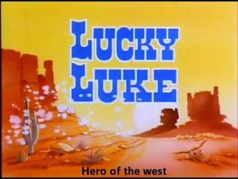 Lucky Luke opening (English Version)