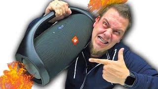 Колонка Базука! JBL BoomBox - ВОТ ЭТО, Круто!!!! (Бинауральная голова)