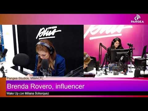 Wake Up con Miliana Bohorquez junto a la Influencer Brenda Rovero