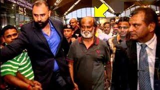 Thalaiva Rajinikanth's GRAND ENTRY At Dubai Airport For Robo 2.0 Music Launch