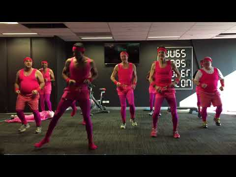 Just Group IT Get Physical for Real Men Wear Pink!