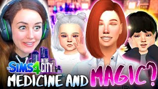 SHE DID IT! 👩‍⚕️ (The Sims 4 IN THE CITY #59!💒)