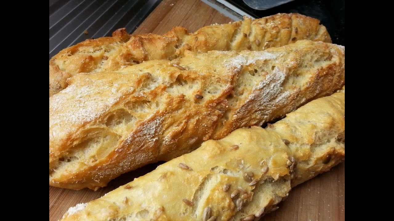 Comment faire des baguettes de pain tradition en 90 mn youtube - Comment tenir des baguettes chinoises ...