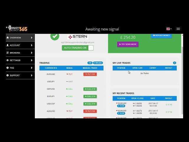binary robot 365 recensione geld verdienen mit 14 österreich wie kann man am besten schwarz geld verdienen mit 13