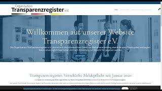 Fake | Phishing | Betrug | Nötigung | www.transparenzregisterdeutschland.de