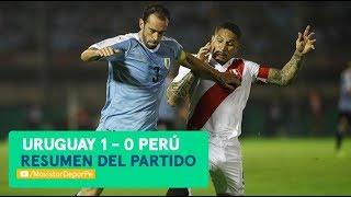 Perú vs Uruguay: 0-1 | RESUMEN y GOL del partido amistoso en Montevideo