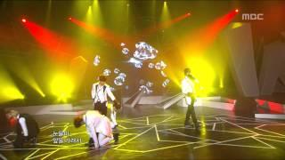 MBLAQ - Cry, 엠블랙 - 크라이, Music Core 20110115