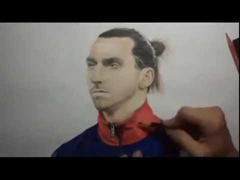 Speed Art Draw Zlatan Ibrahimovic :)