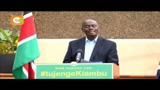 Kabogo atangaza kuwani wadhifa wake tena