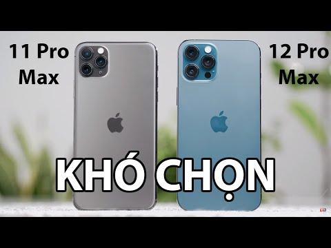 Chọn iPhone 12 Pro Max hay iPhone 11 Pro Max - Tưởng dễ nhưng...