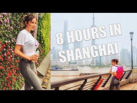 Shanghai China, an 8 hour layover adventure!