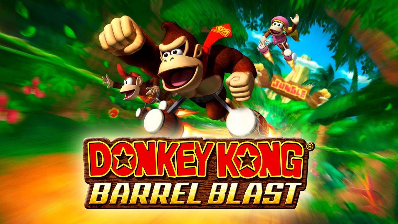 Resultado de imagen para Donkey Kong Barrel Blast