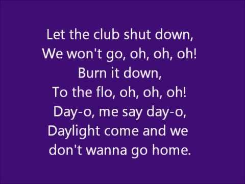 Jason Derulo   Don't wanna go home with lyrics