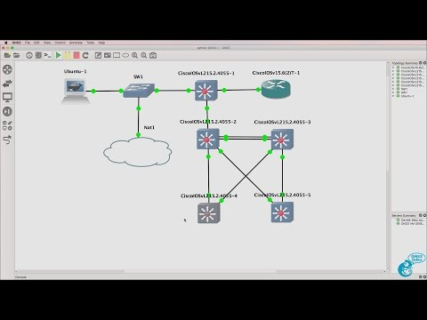 GNS3 Talks: Python for Network Engineers with GNS3 (Part 6) - In-band management and save configs