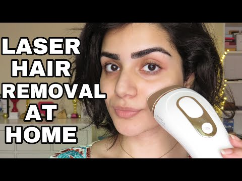 I TRIED LASER HAIR REMOVAL AT HOME!